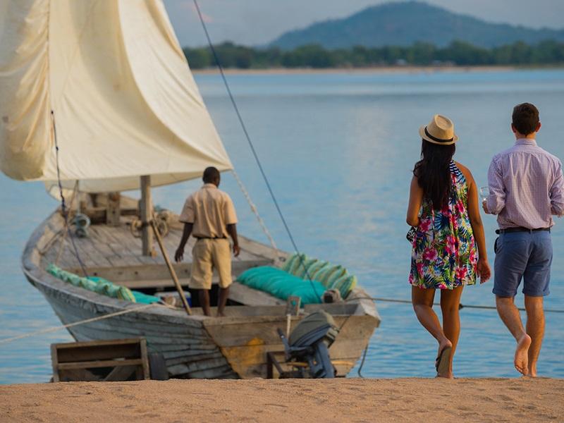 Malawi sunset cruise