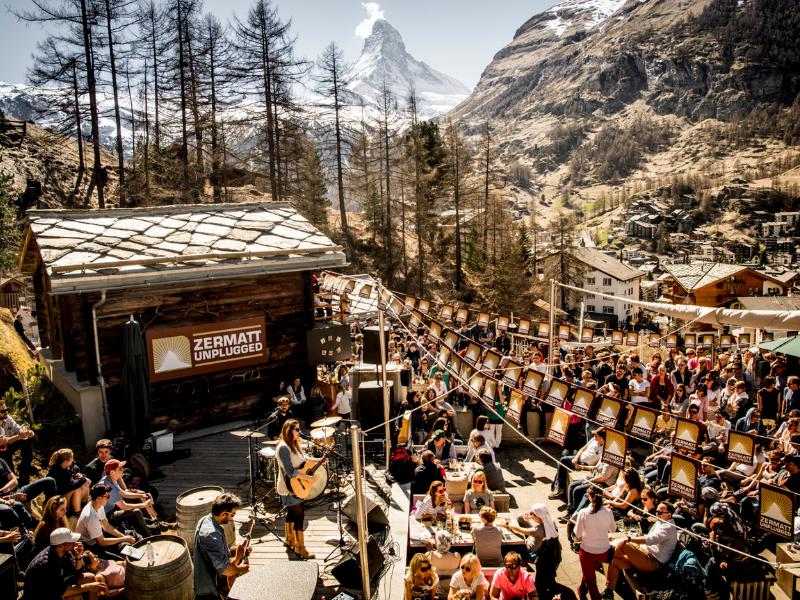 Zermatt Apres ski
