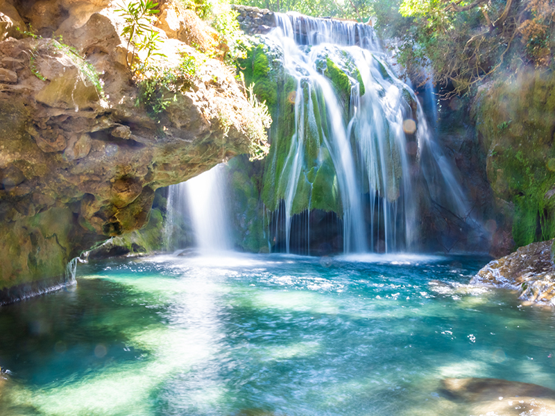 Akchour Waterfall