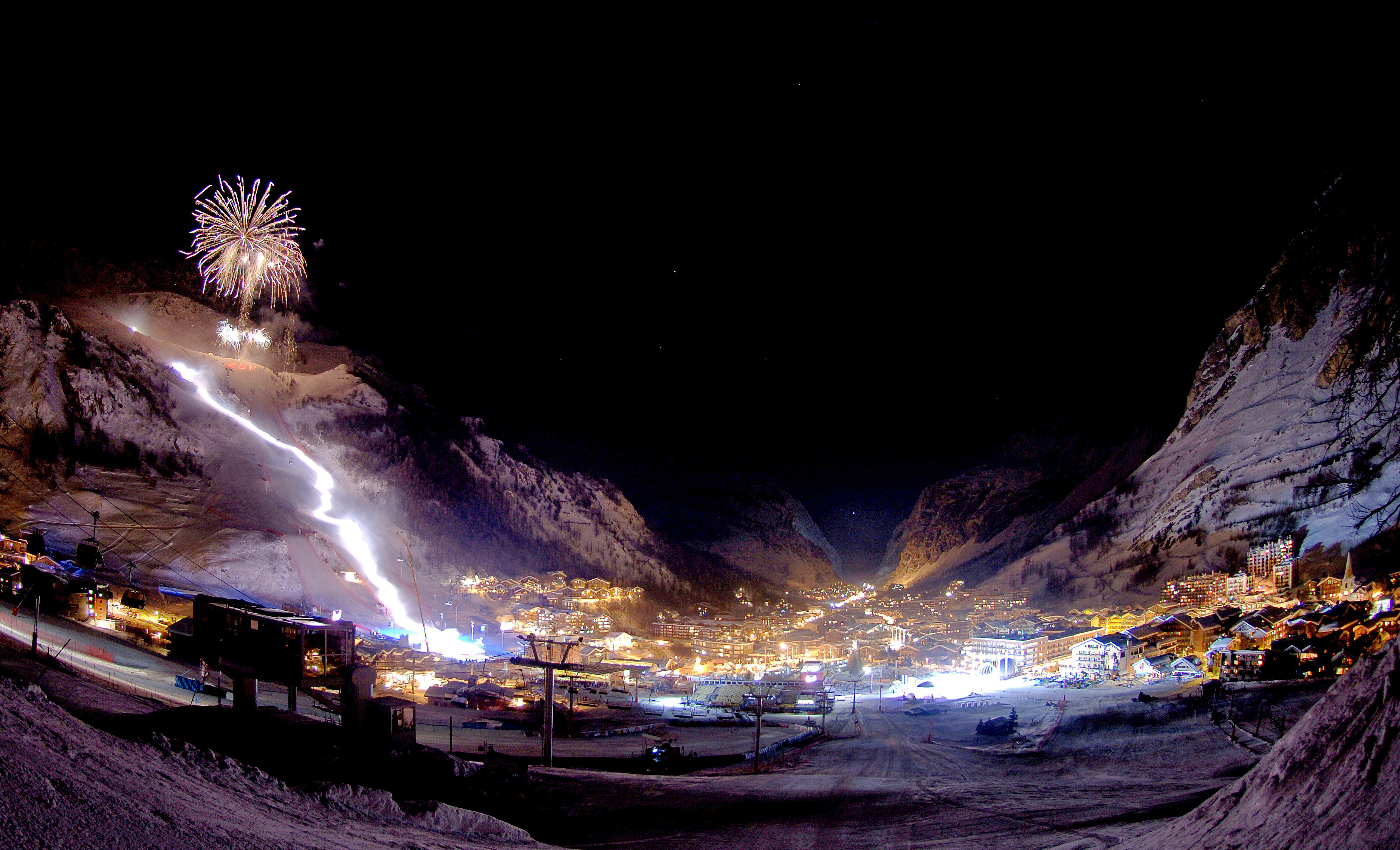 the blizzard val d'isere